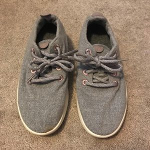 Allbirds outdoor voices wool runners sneakers gray